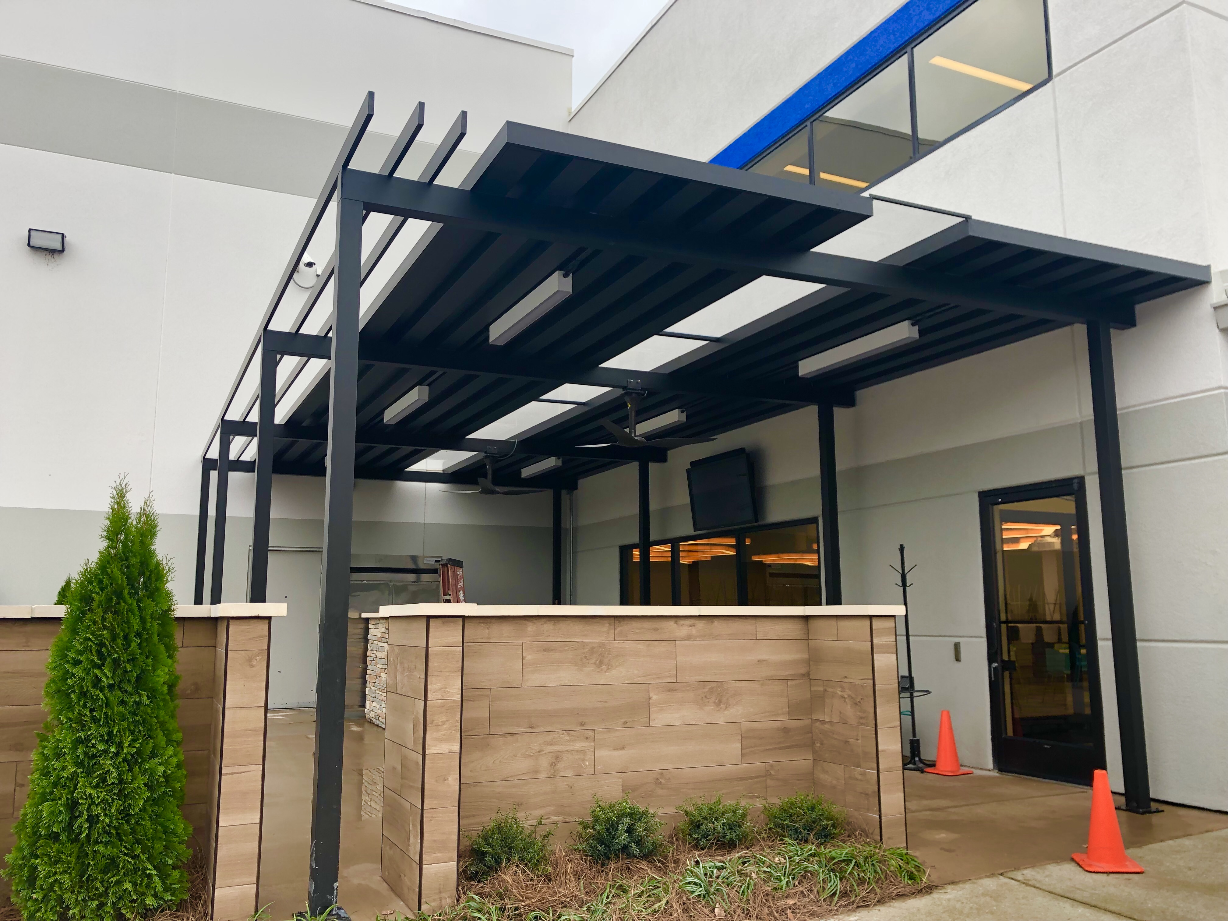 Commercial Metal - Austin American Awning